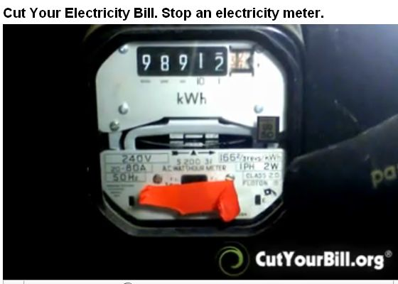 Controversial stop power company meter video screenshot