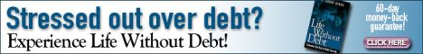 Eliminate stress of being in debt - Experience life without debt!